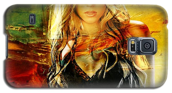 Shakira Galaxy S5 Case by Marvin Blaine