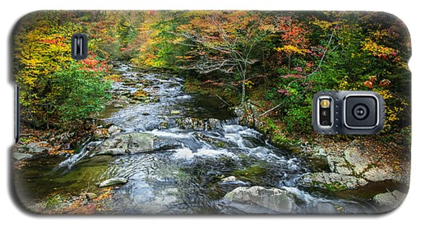 Stream Great Smoky Mountains Painted Galaxy S5 Case