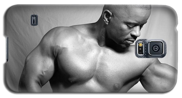 Galaxy S5 Case featuring the photograph The Bodybuilder by Jake Hartz