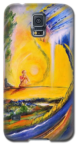 The Island Of Man Galaxy S5 Case by Kicking Bear  Productions