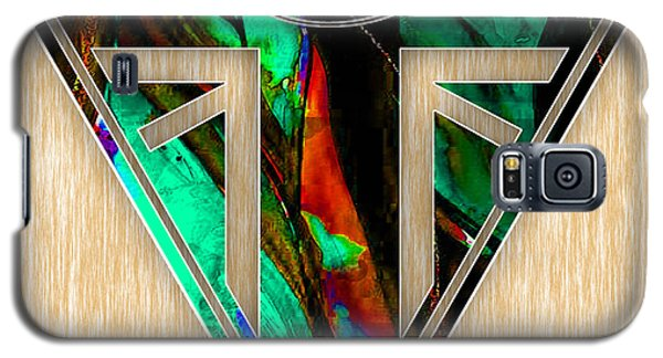 Triumph Motorcycle Badge Galaxy S5 Case by Marvin Blaine