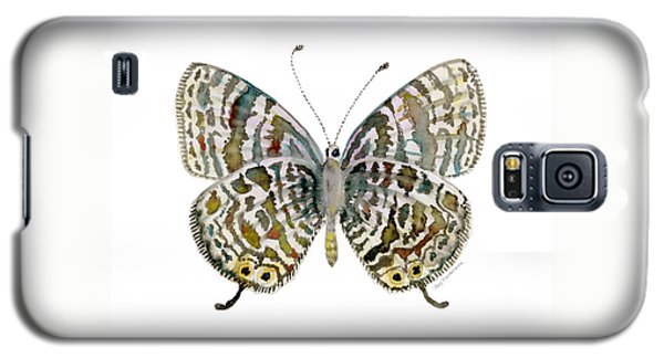 51 Lang's Short-tailed Blue Butterfly Galaxy S5 Case