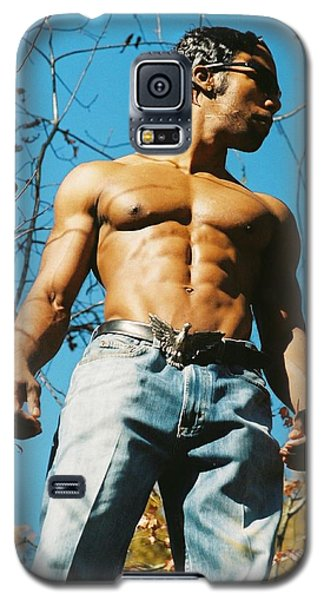 Galaxy S5 Case featuring the photograph The Art Of Muscle by Jake Hartz