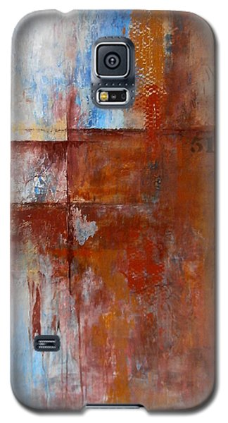 Galaxy S5 Case featuring the painting 519 by Buck Buchheister