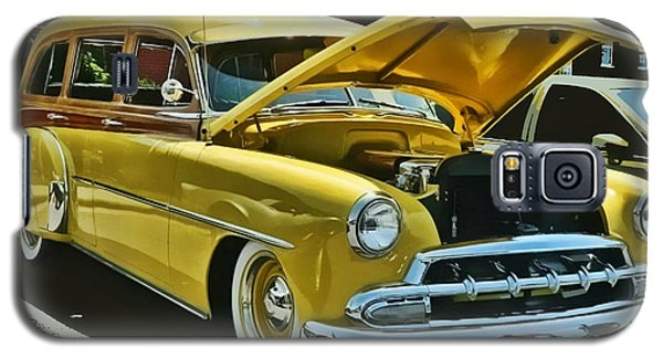 '52 Chevy Wagon Galaxy S5 Case by Victor Montgomery