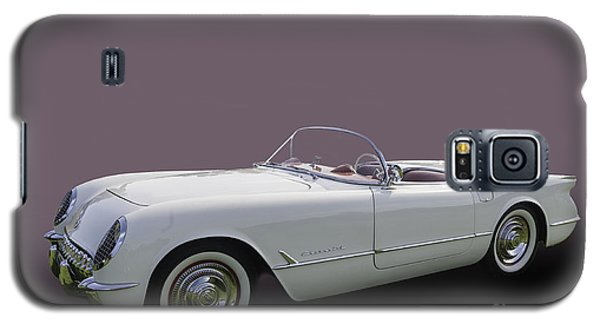 53 Corvette Galaxy S5 Case by Jim  Hatch