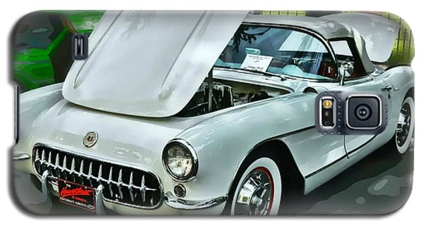 Galaxy S5 Case featuring the photograph '56 Corvette by Victor Montgomery