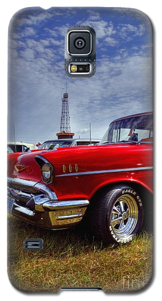 Galaxy S5 Case featuring the photograph 57 Chevy Belair by Trey Foerster