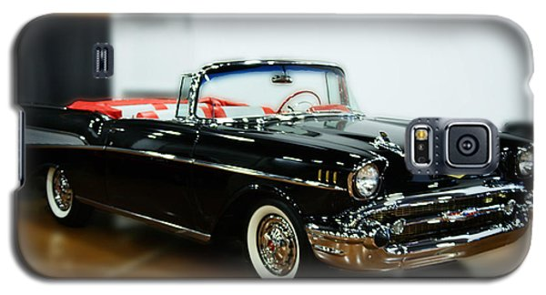 Galaxy S5 Case featuring the photograph 57 Chevy Convertible  by B Wayne Mullins