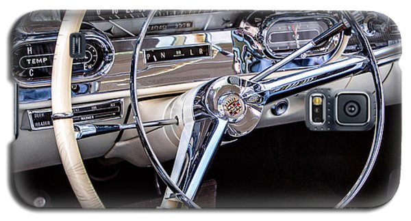 58 Cadillac Dashboard Galaxy S5 Case by Jerry Fornarotto
