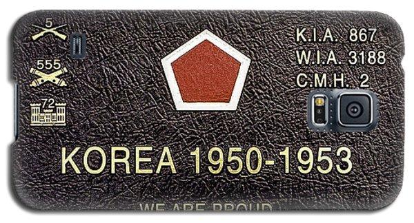 5th Regimental Combat Team Arlington Cemetary Memorial Galaxy S5 Case