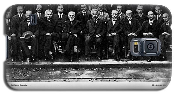 5th Solvay Conference Of 1927 Galaxy S5 Case