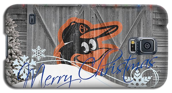 Baltimore Orioles Galaxy S5 Case by Joe Hamilton