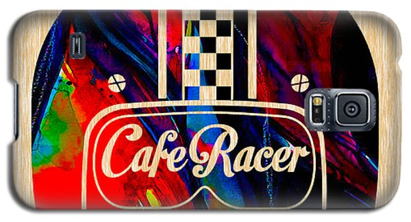 Cafe Racer Motorcycle Galaxy S5 Case