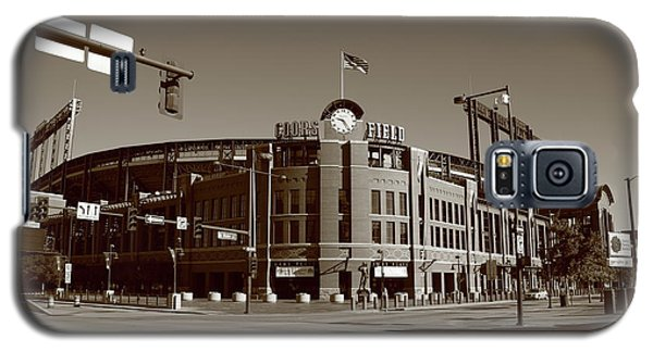Coors Field - Colorado Rockies Galaxy S5 Case by Frank Romeo