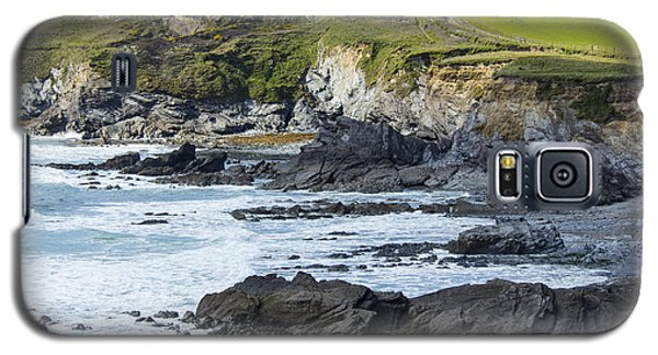 Cornish Seascape Gunwalloe Galaxy S5 Case