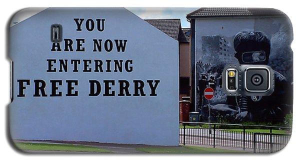 Free Derry Corner 3 Galaxy S5 Case