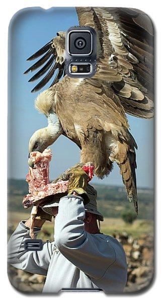 Griffon Galaxy S5 Case - Griffon Vulture Conservation by Nicolas Reusens