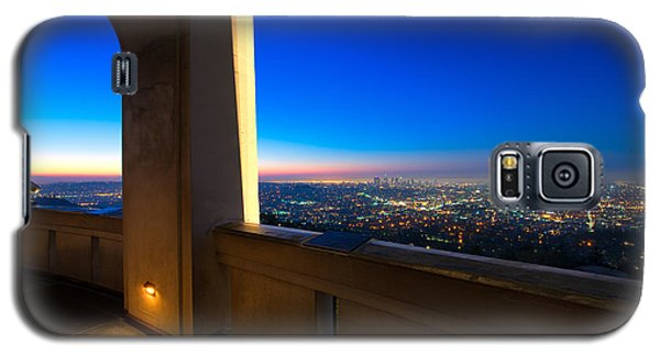 Los Angeles As Seen From The Griffith Observatory Galaxy S5 Case