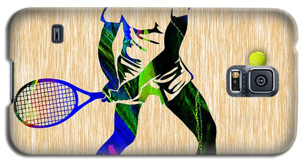Mens Tennis Galaxy S5 Case by Marvin Blaine