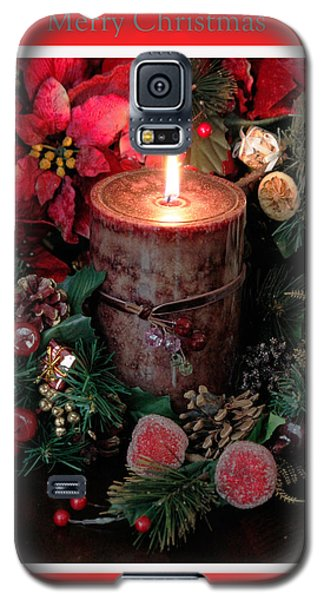 Galaxy S5 Case featuring the photograph Merry Christmas by Ivete Basso Photography