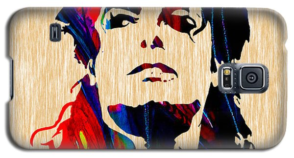 Michael Jackson Painting Galaxy S5 Case by Marvin Blaine