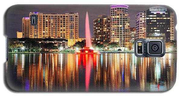 Orlando Downtown Dusk Galaxy S5 Case