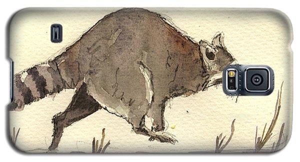 Raccoon  Galaxy S5 Case