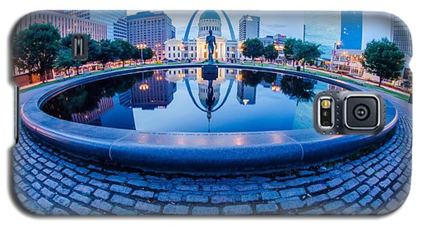 St. Louis Downtown Skyline Buildings At Night Galaxy S5 Case