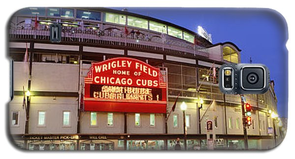 Usa, Illinois, Chicago, Cubs, Baseball Galaxy S5 Case by Panoramic Images