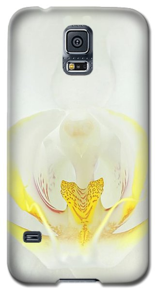 White Orchid-3 Galaxy S5 Case