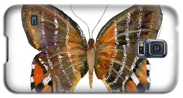 60 Euselasia Butterfly Galaxy S5 Case