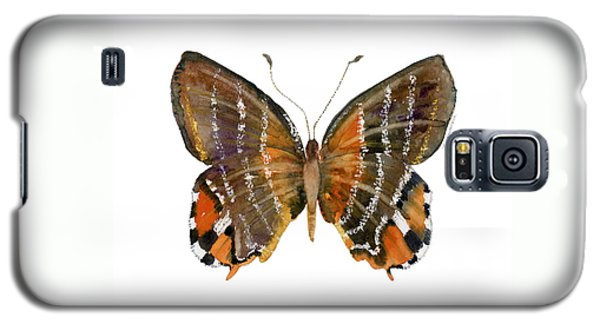60 Euselasia Butterfly Galaxy S5 Case