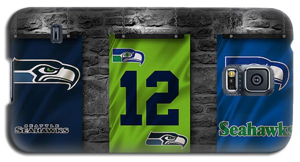 Seattle Seahawks Galaxy S5 Case by Joe Hamilton