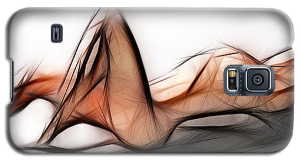 6524 Fractal Nude 1 To 3 Ratio Abstract Signed Chris Maher Galaxy S5 Case