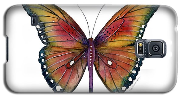 66 Spotted Wing Butterfly Galaxy S5 Case