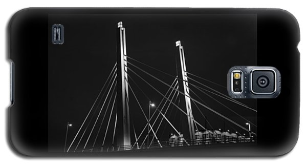 6th Street Bridge Black And White Galaxy S5 Case