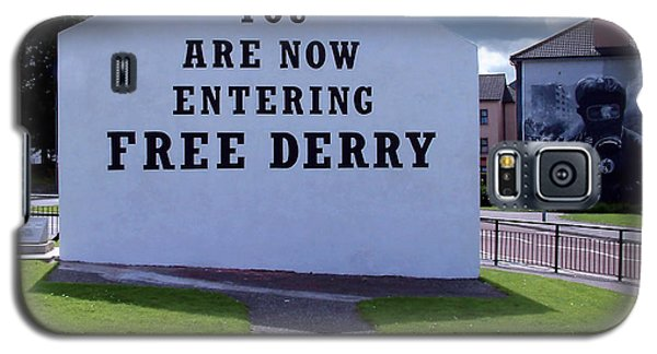 Free Derry Corner 4 Galaxy S5 Case