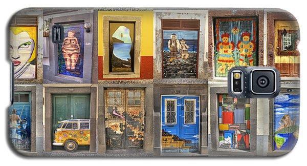 Funchal Door Art Galaxy S5 Case