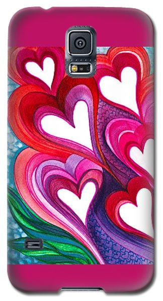 7 Hearts Galaxy S5 Case