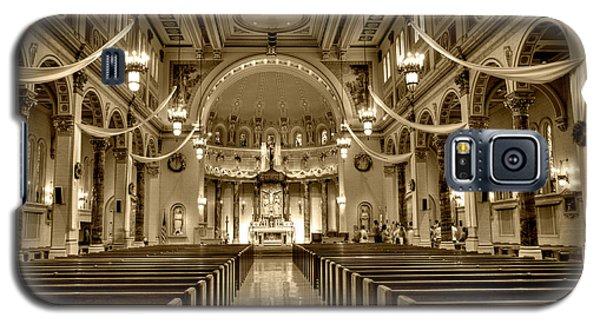 Holy Cross Catholic Church Galaxy S5 Case by Amanda Stadther