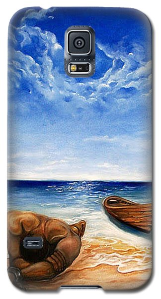 Galaxy S5 Case featuring the painting Home by Emery Franklin