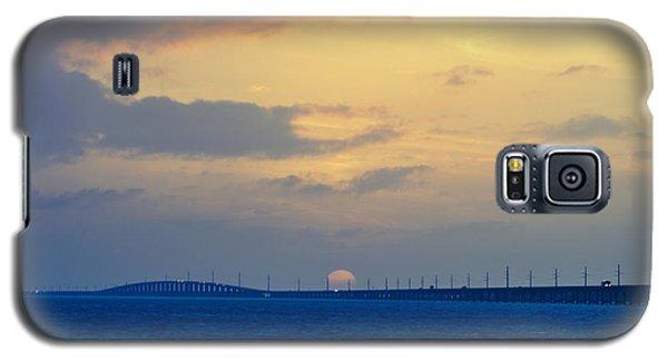 7 Mile Bridge 5 Galaxy S5 Case by Scott Meyer