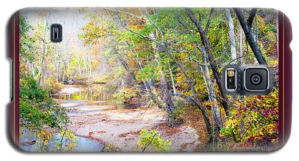 Galaxy S5 Case featuring the photograph Pennsylvania Stream In Autumn by A Gurmankin