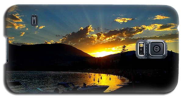 Skaha Lake Sunset Galaxy S5 Case by Guy Hoffman