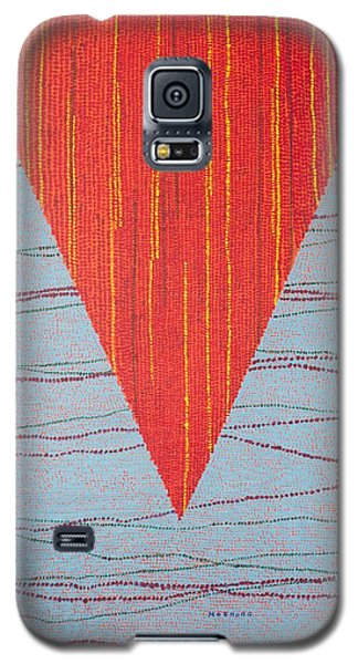 Galaxy S5 Case featuring the painting Untitled by Kyung Hee Hogg