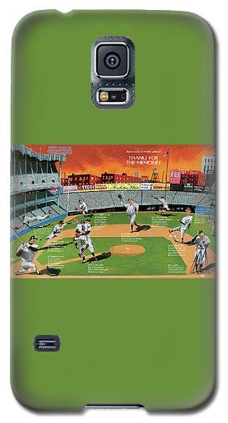 Yankee Stadium Galaxy S5 Case - New Yorker September 22nd, 2008 by Mark Ulriksen