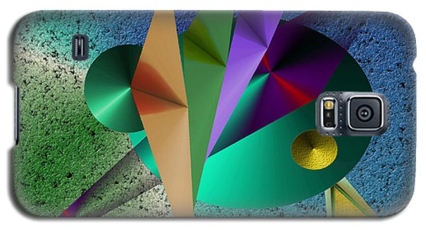 Abstract Bird Of Paradise Galaxy S5 Case