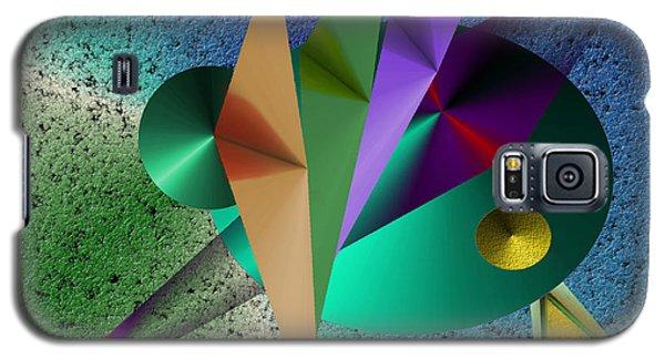 Abstract Bird Of Paradise Galaxy S5 Case