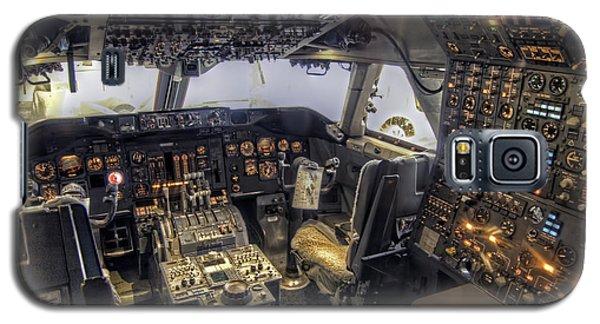 747 Cockpit Galaxy S5 Case